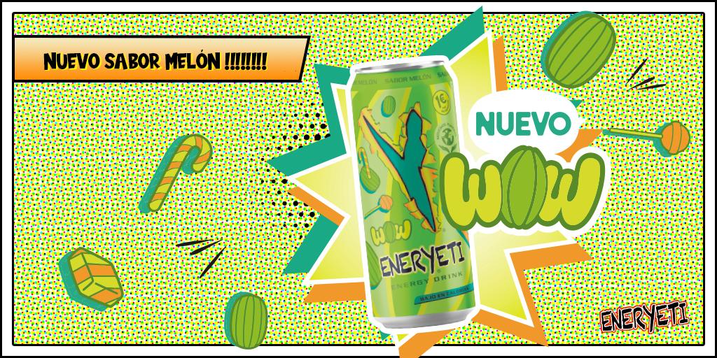 Eneryeti sabor Melon wow
